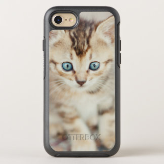Blue Eyed Kitty OtterBox Symmetry iPhone 8/7 Case