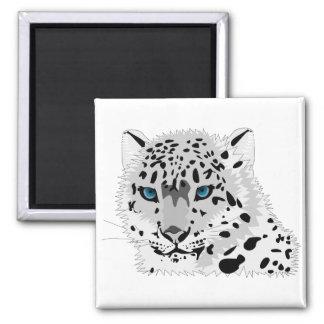 Blue-Eyed Leopard Magnet