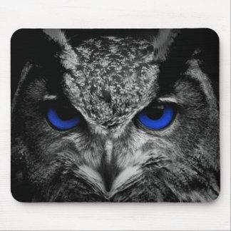 Blue Eyed Owl Mousepad