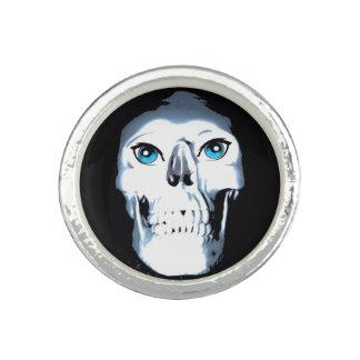Blue Eyed Skull