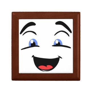 BLUE EYED SMILEY GIFT BOX