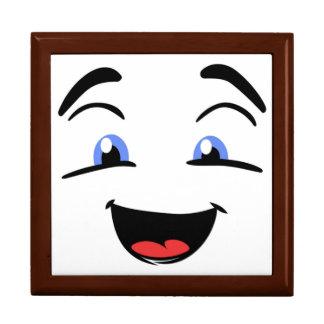 BLUE EYED SMILEY LARGE SQUARE GIFT BOX