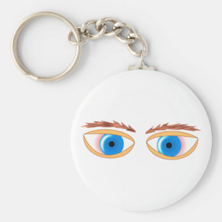 blue eyes blue eyes keychains