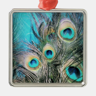 Blue Eyes Christmas Ornament