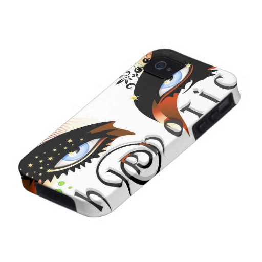 Blue Eyes Fashion Make Up Case-Mate iPhone 4 Cover
