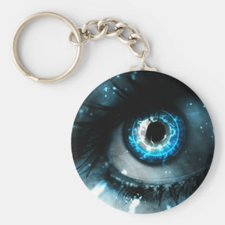 Blue Eyes Keychain