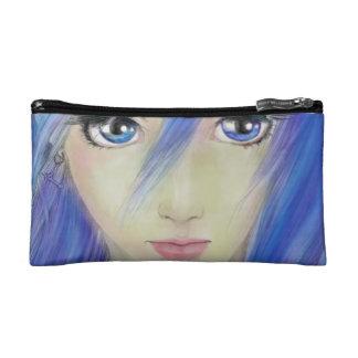 Blue Eyes Message Makeup Bags