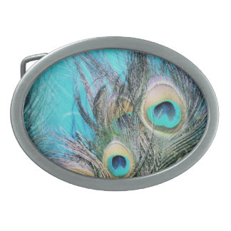 Blue Eyes Oval Belt Buckles