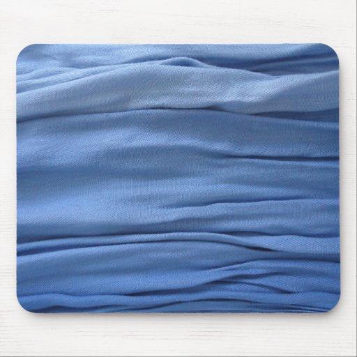 Blue Fabric mousepad