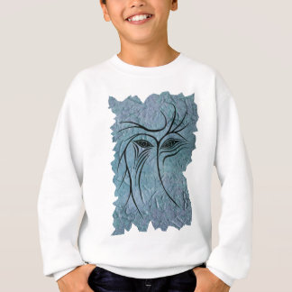 Blue face sweatshirt