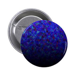 Blue Fade Customizables 6 Cm Round Badge