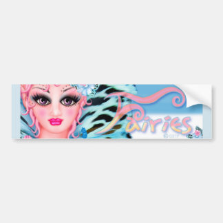 BLUE FAIRIE ANGEL CUTE Bumper Sticker