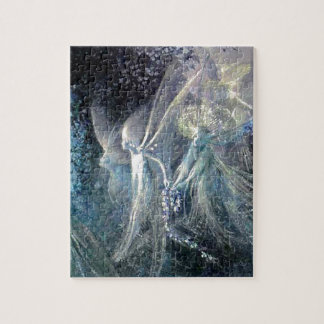 Blue Fairies Jigsaw Puzzle