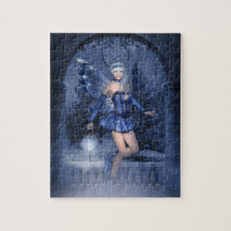 Blue fairy and lamplighter jigsaw puzzle
