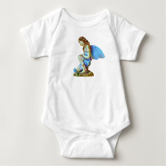 blue fairy baby bodysuit