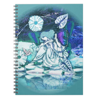 Blue Fairy Butterfly Note Book