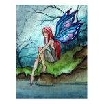 Blue Fairy Post Cards