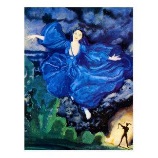 Blue Fairy Postcard