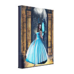 Blue Fairy Stretched Canvas Prints
