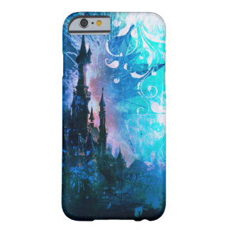 Blue Fairytale Fantasy Castle Grunge Phone Case