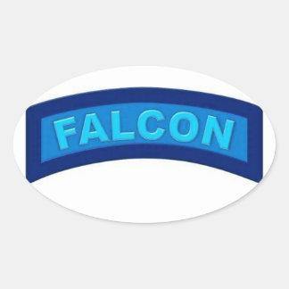Blue Falcon Stickers