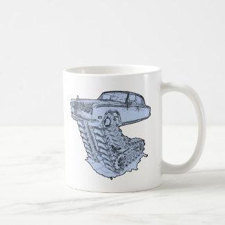 Blue Fantasy Rolls Royce Coffee Mugs