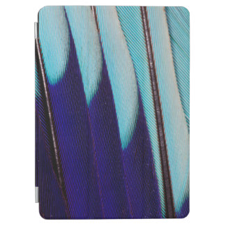 Blue Feather Design Abstract iPad Air Cover