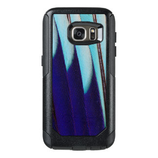 Blue Feather Design Abstract OtterBox Samsung Galaxy S7 Case