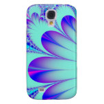 Blue feather faerie fractal skins and cases
