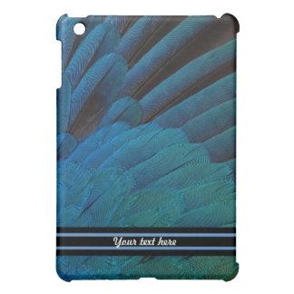 Blue Feathered Plumage iPad Mini Covers