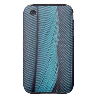 Blue Feathers iPhone Case Tough iPhone 3 Cases