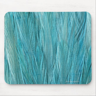 Blue Feathers Mouse Mat