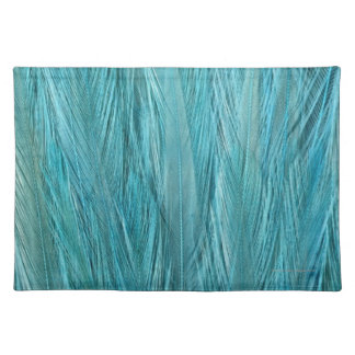 Blue Feathers Placemat