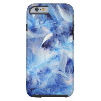 Blue Feathers Tough iPhone 6 Case