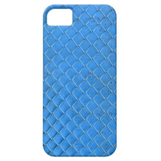 blue fence net urban industrial texture pattern iPhone 5 covers