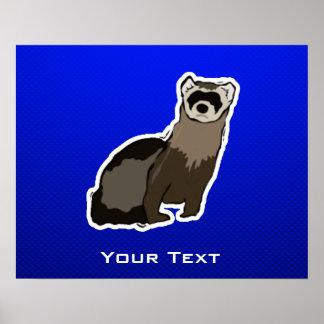 Blue Ferret Posters