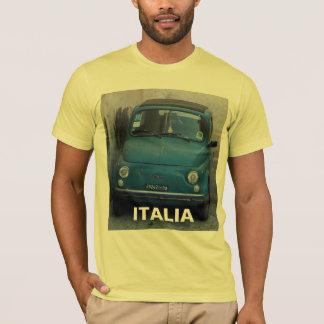 Blue Fiat 500 T-Shirt