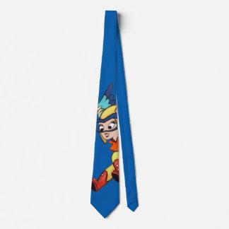 Blue Fifi Tie