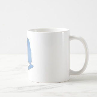 Blue Figure Skate Coffee Mug
