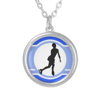 Blue Figure Skating Jewelry