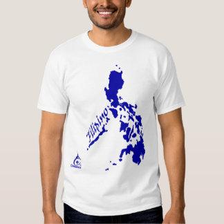 Blue Filipino Philippine Islands T Shirts
