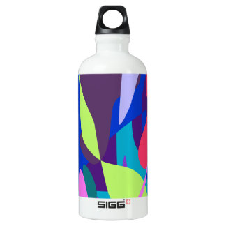Blue Fire Deep Purple SIGG Traveler 0.6L Water Bottle