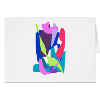Blue Fire Greeting Card
