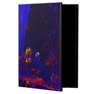 ☼BLUE FIRE OPAL☼ COVER FOR iPad AIR