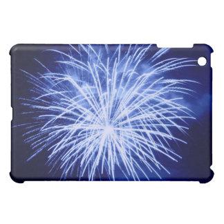 Blue Fireworks iPad Case