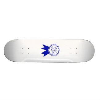 Blue First Place Ribbon Skateboard Decks