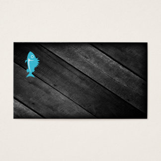 Blue Fish Business Card