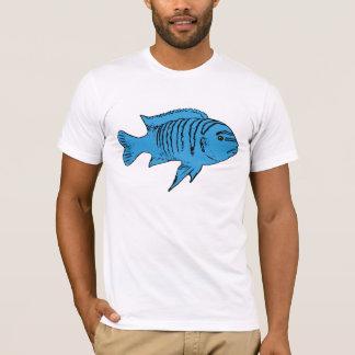 Blue fish cichlid T-Shirt