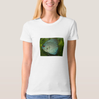 Blue Fish Ladies Organic T-Shirt (Fitted) Natural