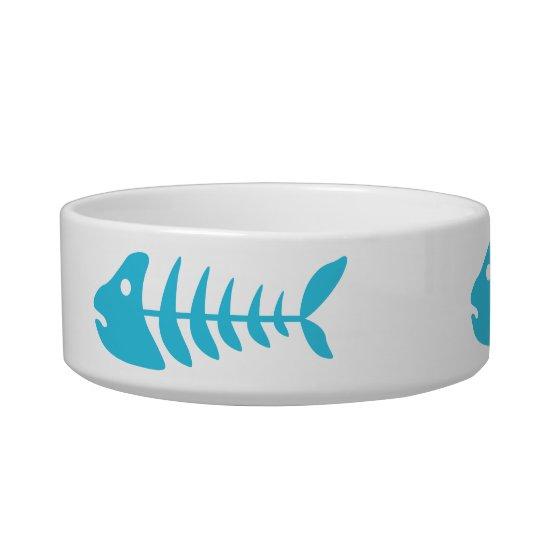 Blue Fishbones Bowl